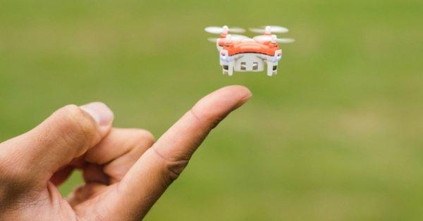 Анонсирован самый маленький квадрокоптер в мире